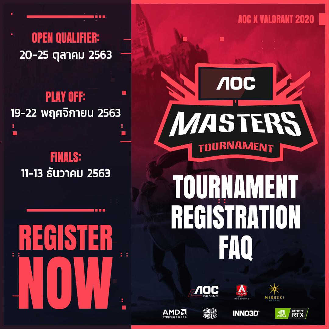 AOC Masters VALORANT Tournament 8102020 4