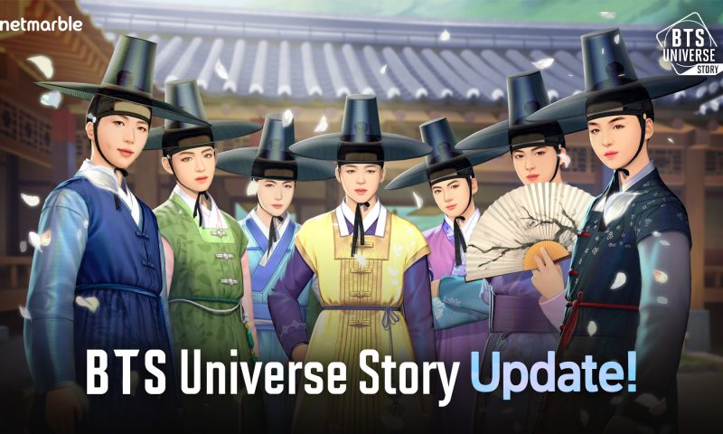 BTS Universe Story อัปเดตครั้งแรกพบเครื่องประดับพิเศษสำหรับฮาโลวีน