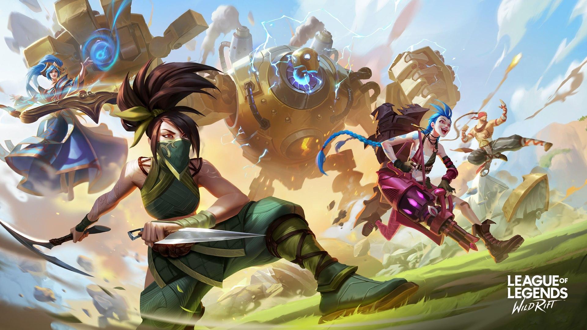 League of Legends Wild Rift 27102020