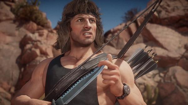 Mortal Kombat 11 ปล่อยตัวอย่าง Rambo สายโหดฟันไม่เลี้ยง