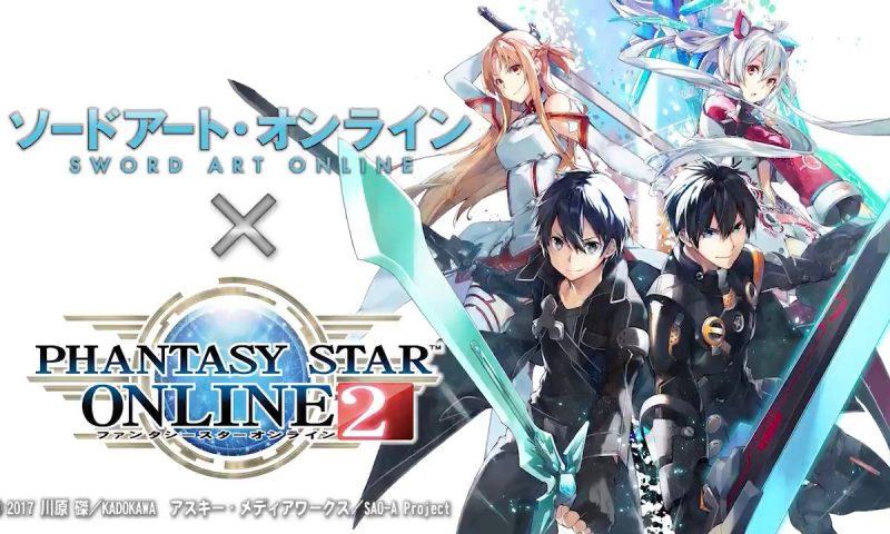 Sword Art Online กำลังจะไปลุยในเกม Phantasy Star Online 2