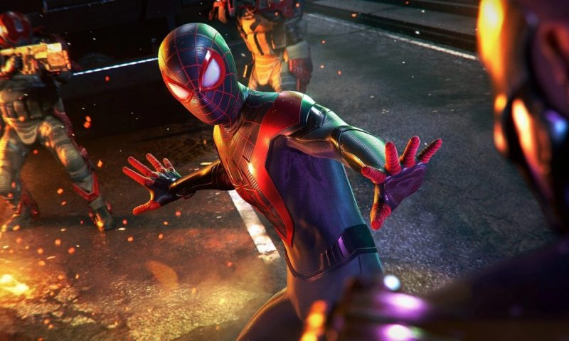 Marvel's Spider-Man: Miles Morales ปล่อยตัวอย่าง Launch Trailer