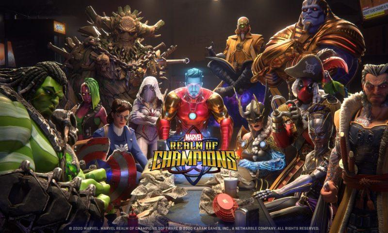 Marvel Realm of Champions ศึกซูเปอร์ฮีโร่ประกาศวันเปิดให้บริการ
