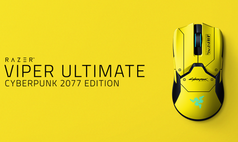 RAZER เปิดตัวเมาส์รุ่นพิเศษ CYBERPUNK 2077 EDITION