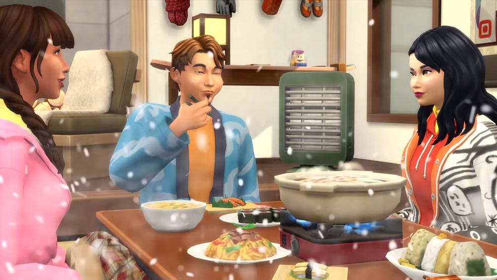 รีวิว The Sims 4SnowyEscape