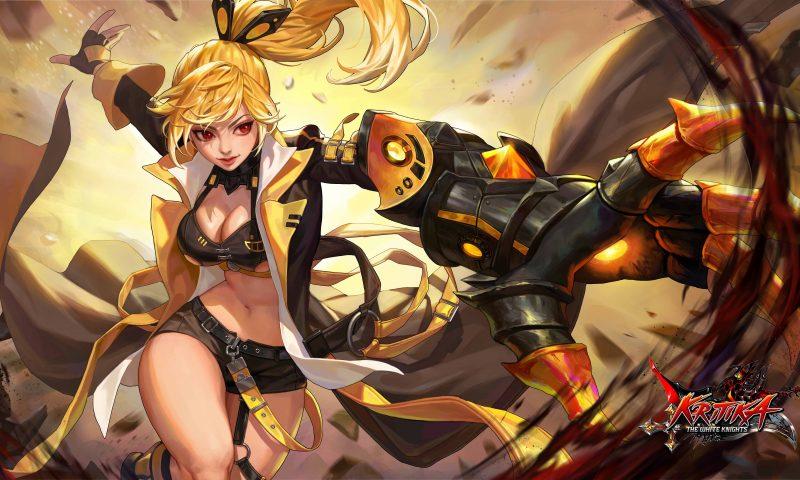 Kritika : The White Knights อัปเดตสุดปังส่ง Flame Striker ลงสมรภูมิแล้ววันนี้