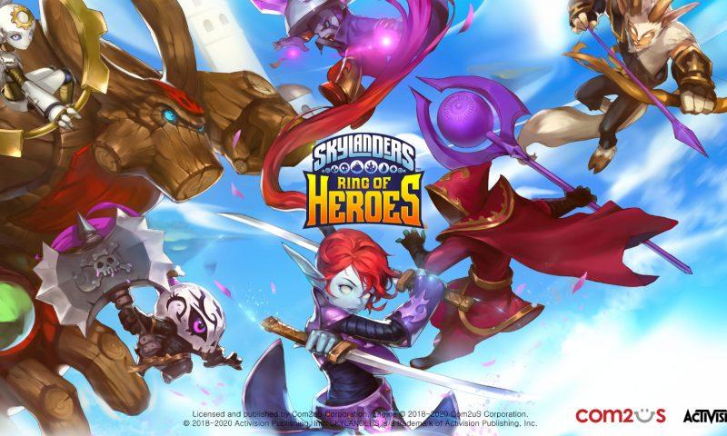 Skylanders Ring of Heroes พร้อมลงทะเบียนก่อนเล่นจริง 10 ธ.ค.