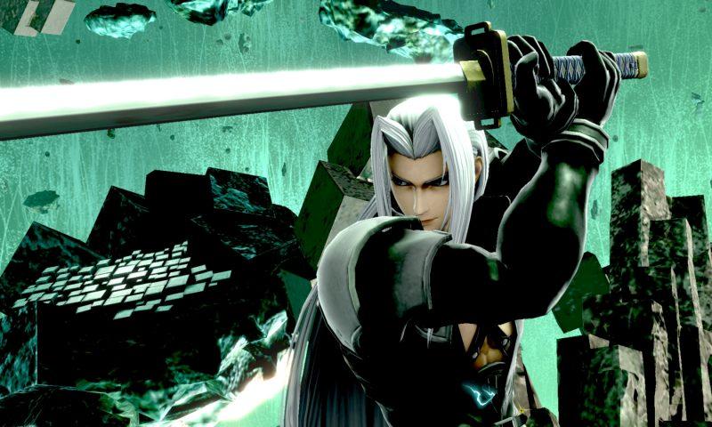 Smash Bros ในสัปดาห์จะเปิดตัว Sephiroth ตัวละครสุดเท่จาก Final Fantasy