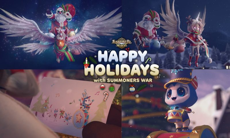 Summoners War ขนของขวัญและวิดีโอคริสต์มาสสุดอลัง