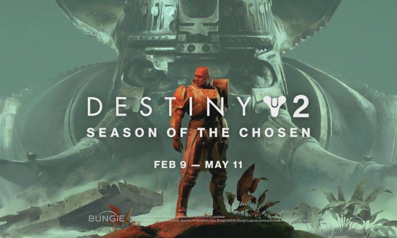 Destiny 2 ประกาศเตรียมอัปเดท Season of the Chosen กุมภา – มีนา
