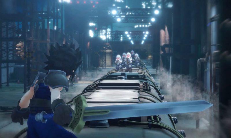 Final Fantasy VII เปิดตัวสองเกมสำหรับมือถือ 2 แนว 2 สไตล์