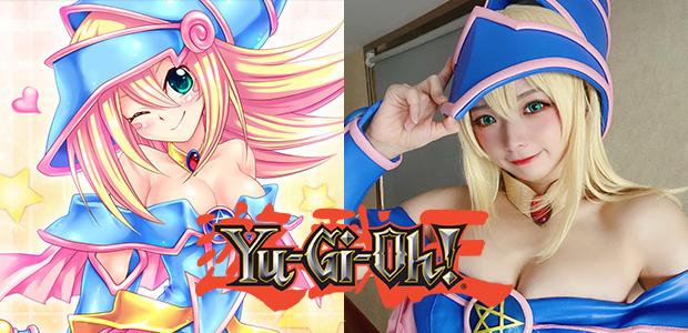 Magician Girl ในเวอร์ชั่นคอสเพลย์สุดน่ารักจากการ์ตูน YU-GI OH