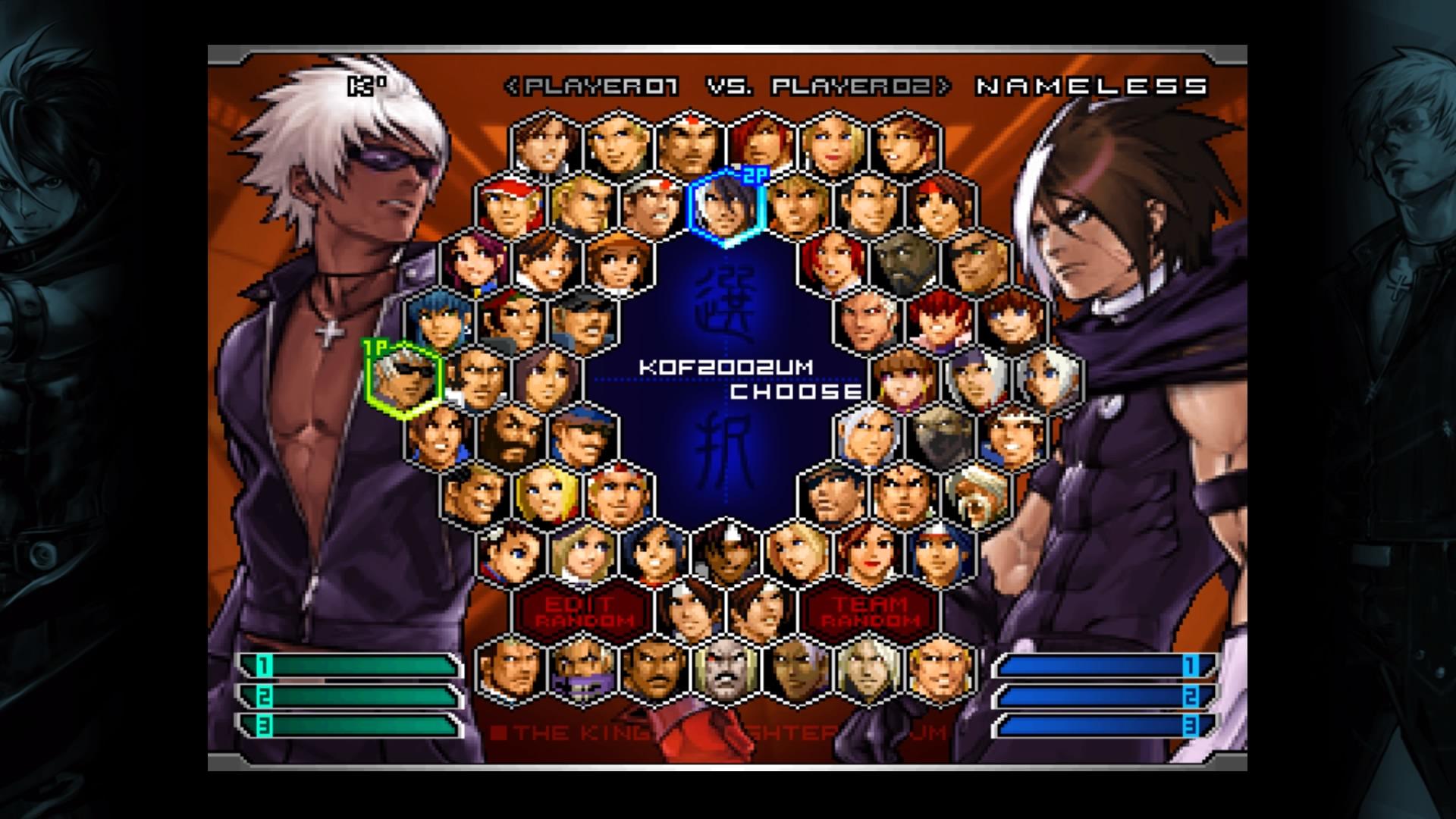 TheKing of Fighters2002 UnlimitedMatch
