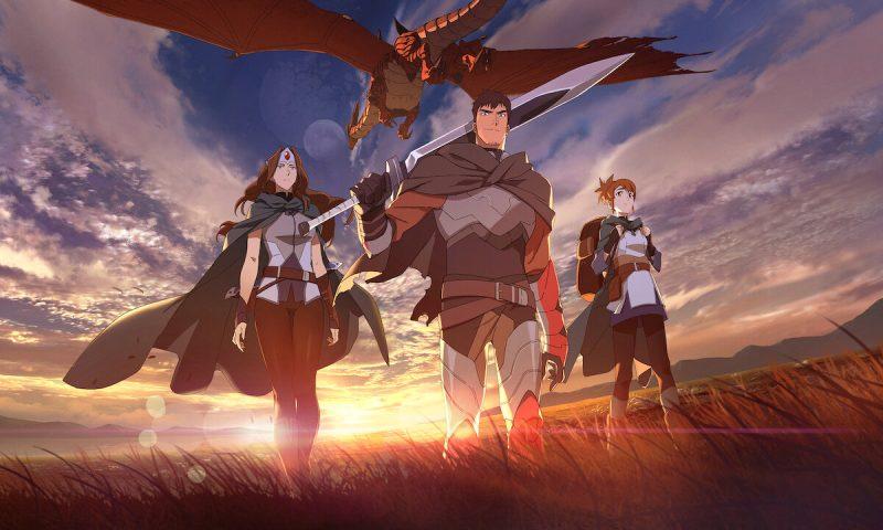 Netflix ปล่อยตัวอย่างใหม่อนิเมชั่นเรื่อง Dragon's Blood เผยฮีโร่ใหม่จัดเต็ม