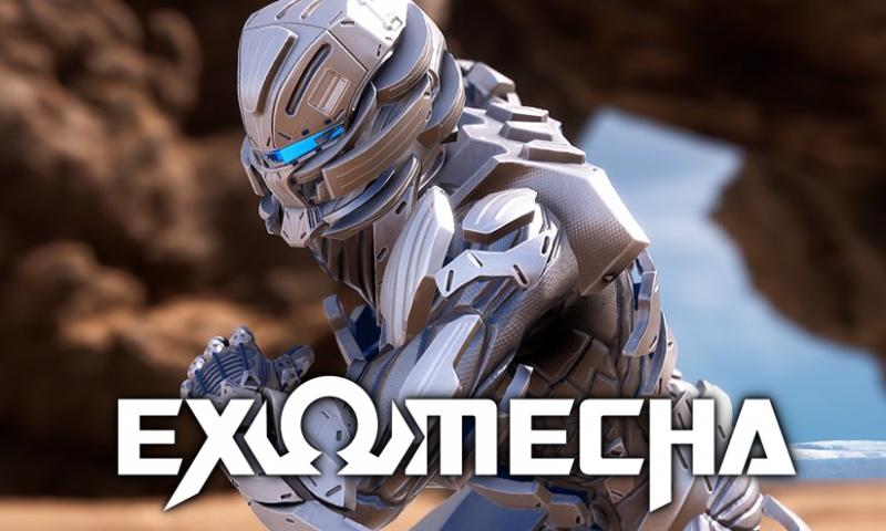 EXOMECHA ตัวอย่างเกมเพลย์ใหม่เกมแนว FPS กราฟิกสุดอลัง