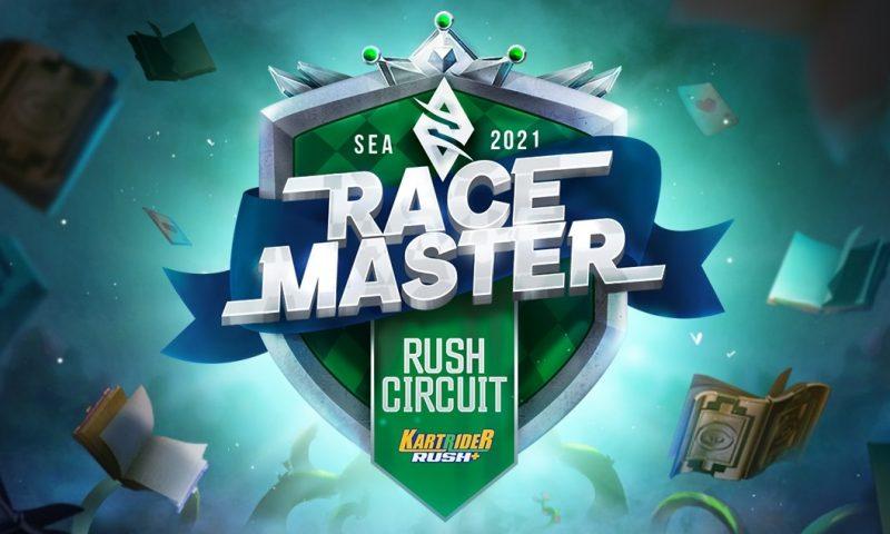 เปิดรับสมัครการแข่งขันเกม KartRider Rush+ รายการที่ 2 RUSH CIRCUIT SEA Tournament