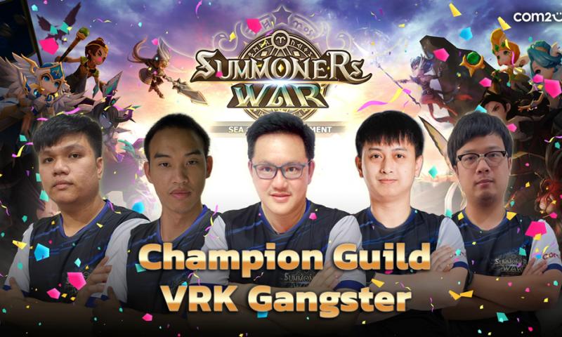 Summoners War คว้าทั้งแชมป์ และรองแชมป์ ในการแข่งขัน SEA Guild Tournament 2021