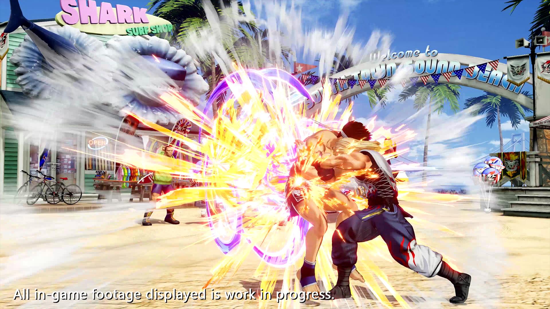ปล่อยตัวใหม่The King of Fighters XV