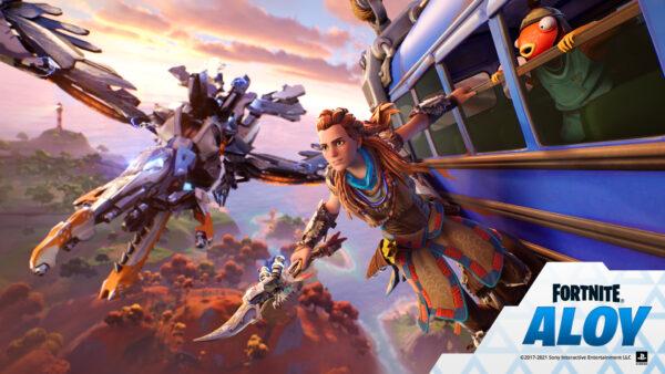 Fortnite จัดกิจกรรมพิเศษเปิดตัว Skin Aloy จากเกม Horizon Zero Dawn