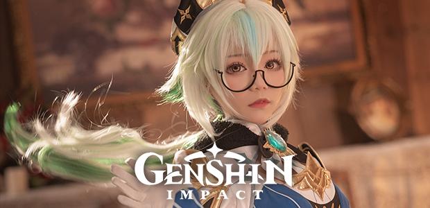 งานดีจัด Sacarosa สายน้อยแห่งสายลมตัวละครใน Genshin Impact