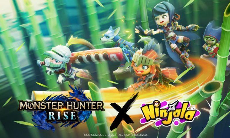 Ninjala จับมือกับ Monster Hunter Rise ให้สะสมชุดพิเศษ