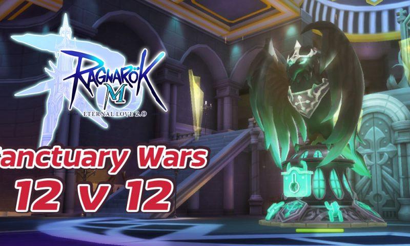 Ragnarok M: Eternal Love เปิดโหมดสงครามตีป้อมใน Sanctuary Wars 12v12
