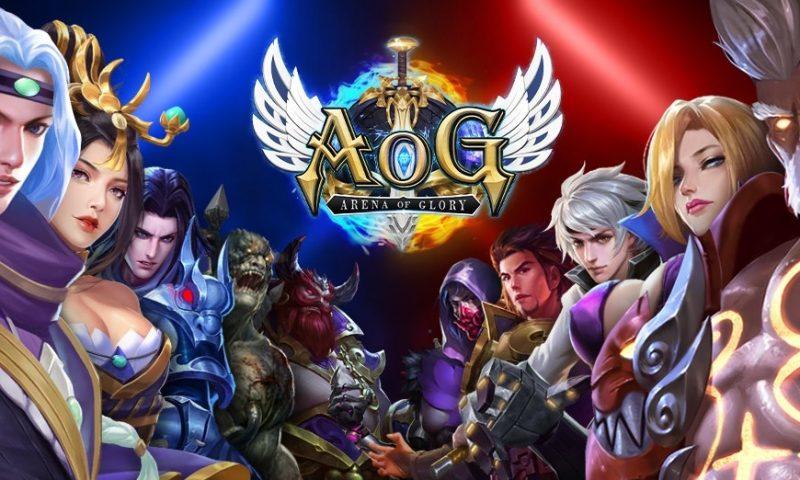 MOBA ของคนจริง Arena of Glory เปิดให้บริการแล้ววันนี้ทั้ง IOS และ Android
