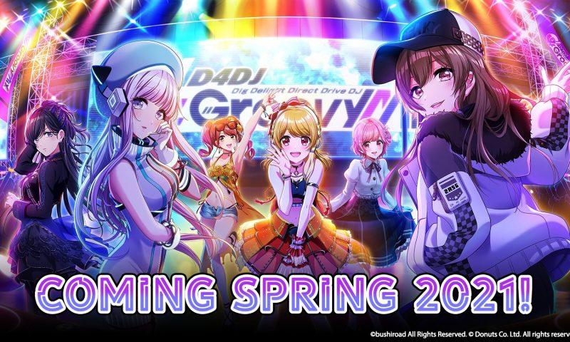 D4DJ เกมจังหวะดนตรีในเวอร์ชั่น Eng จะเปิดตัวในเดือนพฤษภาคมนี้