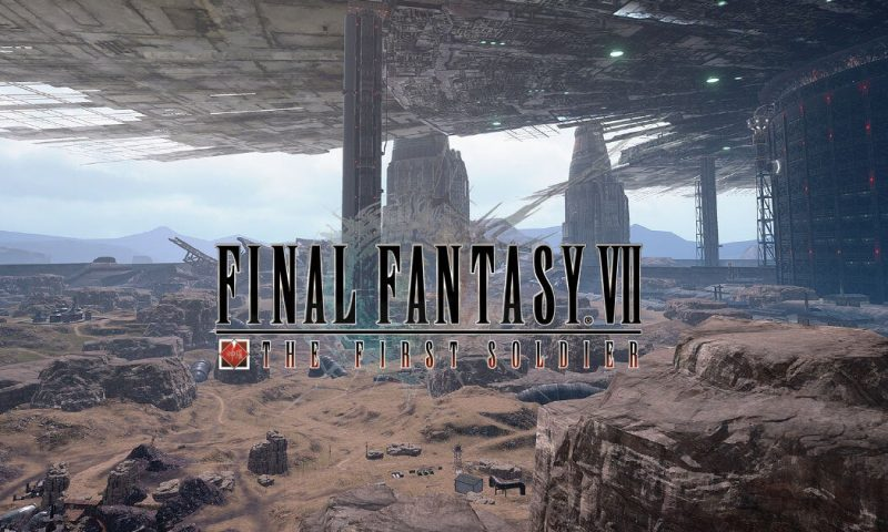 Final Fantasy VII The First Soldier เปิดรับสมัครเตรียมทดสอบ CBT
