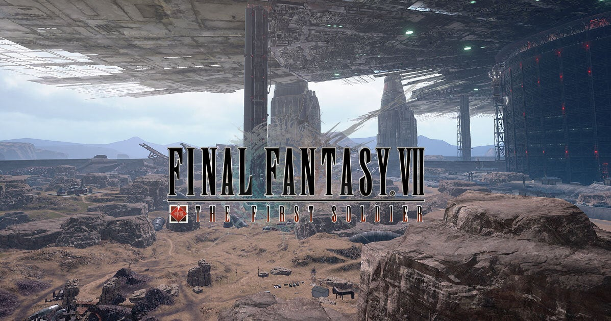 Final Fantasy VII The First Soldier 1052021
