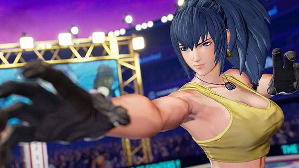 The King of Fighters XV ปล่อยตัวอย่างใหม่ Leona Heidern