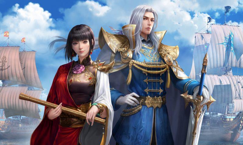 เตรียมออกเรือ Uncharted Waters Mobile จากค่าย Tencent Games