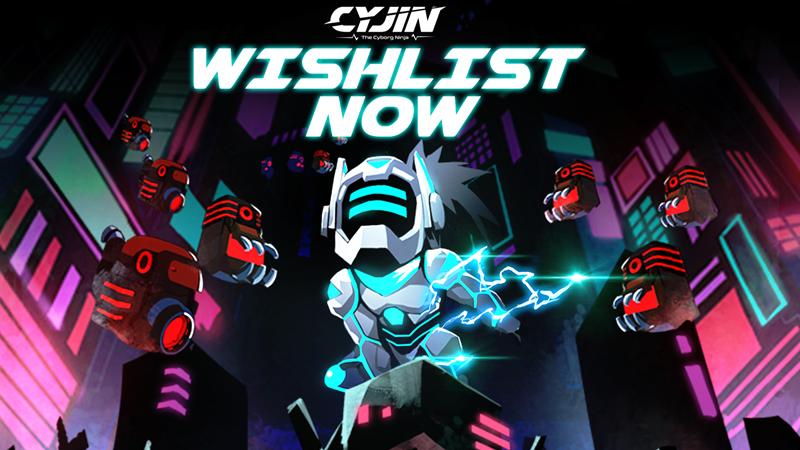 เปิดตัวเกม Cyjin: The Cyborg Ninja เกมอินดี้ Arcade ฝีมือคนไทยที่น่าจับตามอง
