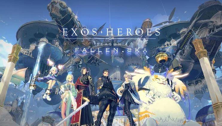 Exos Heroes Season 4 ได้มีการประกาศอัปเดตตัวละครใหม่และอื่นๆ เพียบ