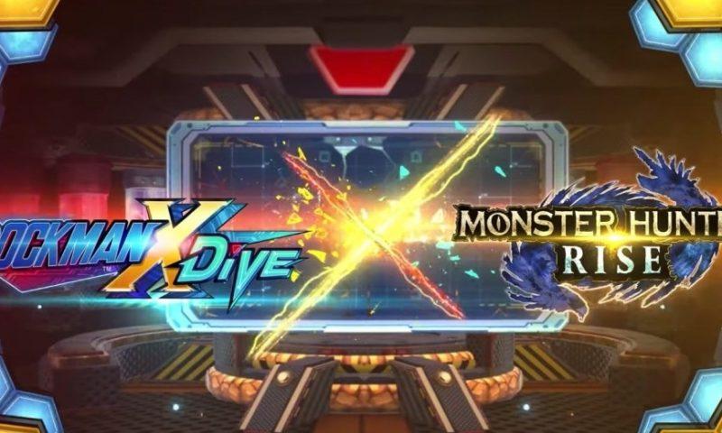 Rockman X Dive จับมือกับ Monster Hunter Rise เพิ่มชุดตัวละครสุดเท่
