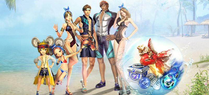 Blade & Soul Revolution เทศกาลทะเลฤดูร้อนพบกับดันเจี้ยนแคมเปญใหม่ และ 3 ภูตพิทักษ์สุดแกร่ง