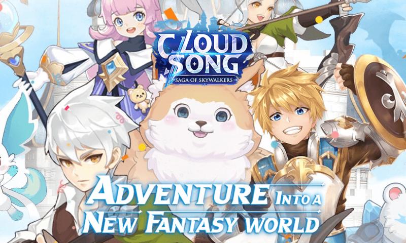 Cloud Song สำรวจโลกแฟนตาซีใหม่และลงทะเบียนล่วงหน้า