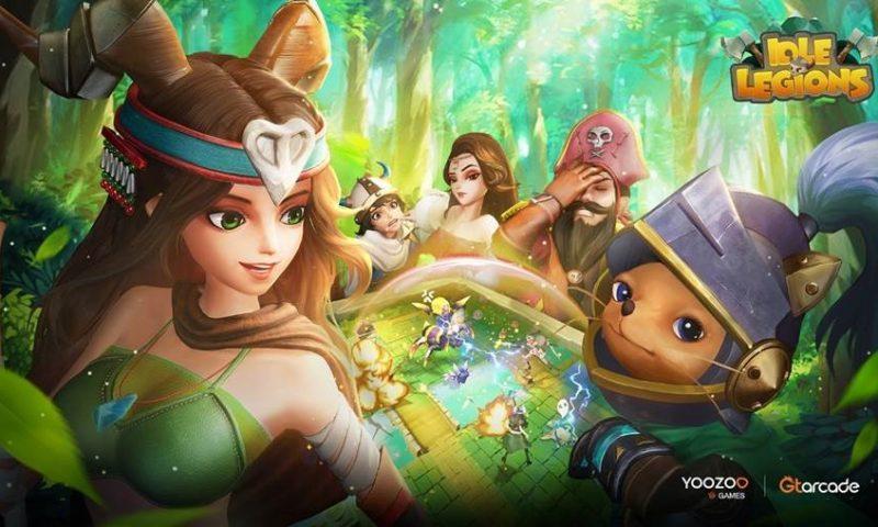 Idle Legions เกมมือถือแนว  Idle RPG ใหม่ล่าสุดจาก YOOZOO Games