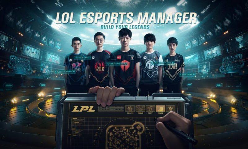 Riot Games ประกาศเปิดตัวเกมมือถือเกมใหม่ LoL Esports Manager