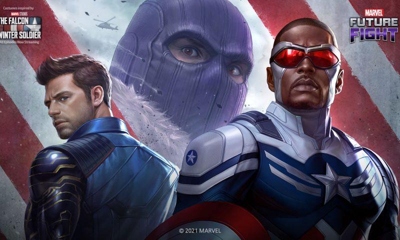 MARVEL Future Fight เตรียมโล่ของคุณให้พร้อมและออกผจญภัยไปกับฟอลคอนและวินเทอร์โซลเจอร์