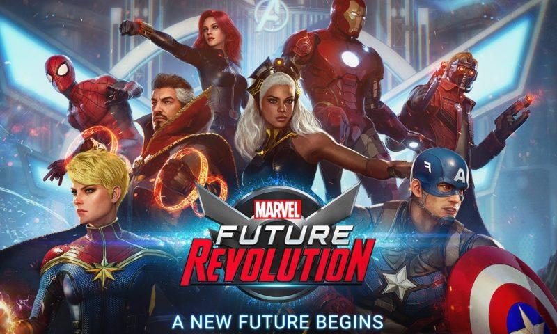 Marvel Future Revolution ปล่อยตัวอย่างของ Captain America