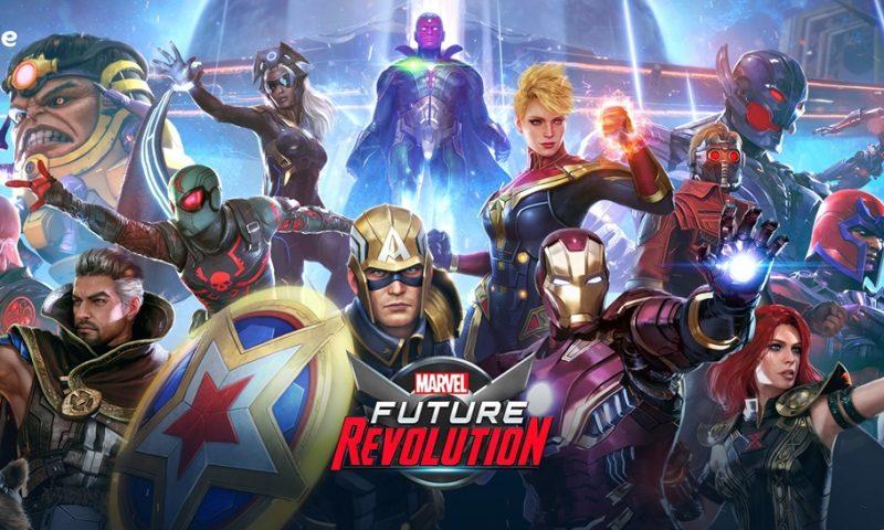 Marvel Future Revolution เกมใหม่บนมือถือประกาศวันเปิดให้บริการ