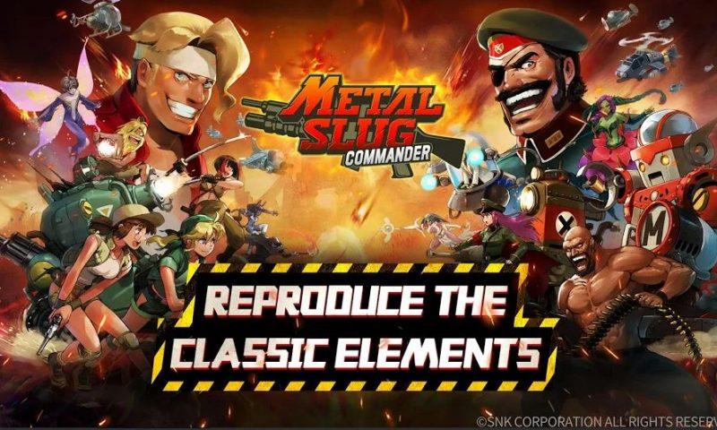 Metal Slug : Commander เวอร์ชั่น Global เริ่มให้ลงทะเบียนล่วงหน้า