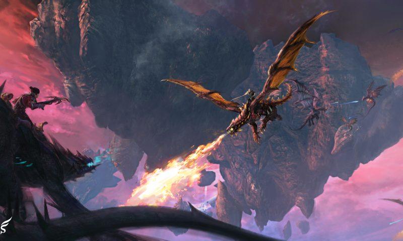 Line POD เปิดตัวเกม Rider of Icarus เกมแนว MMORPG ฟอร์มยักษ์