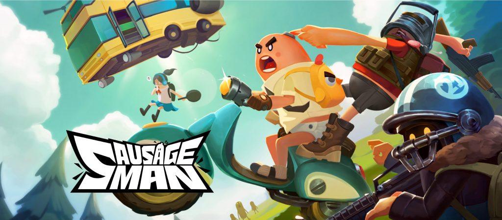 รีวิว Sausage Man เกมมือถือ Battle Royale ไส้กรอกสุดป่วน