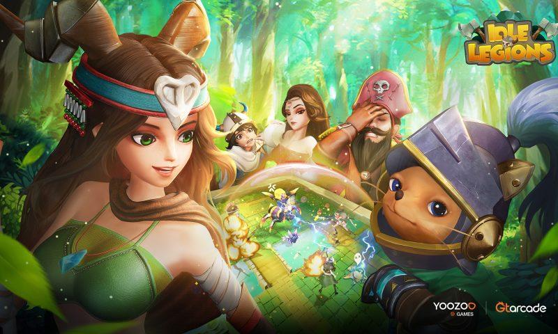 Idle Legions เกมมือถือ Idle RPG จาก YOOZOO Games เปิดโหลดบน iOS และ Android แล้ว