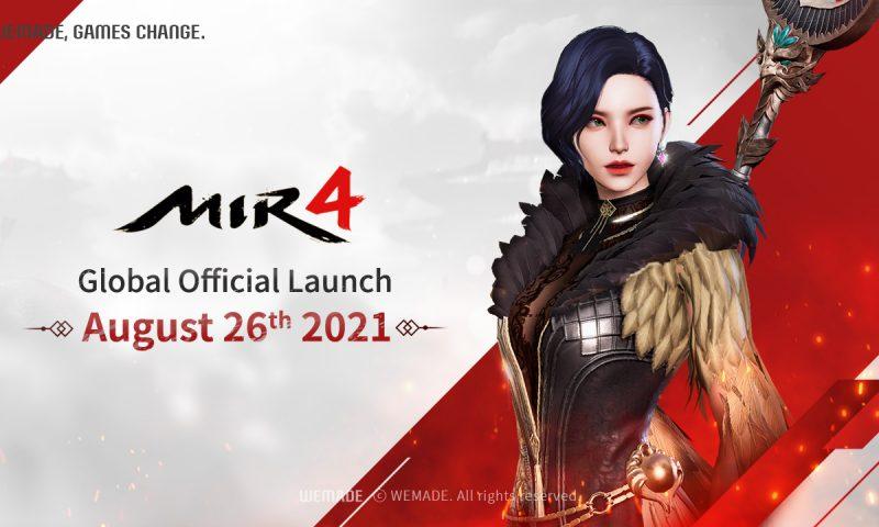 MIR4 เกมเก็บเลเวลกราฟิกแรงประกาศวันเปิดให้บริการ Global