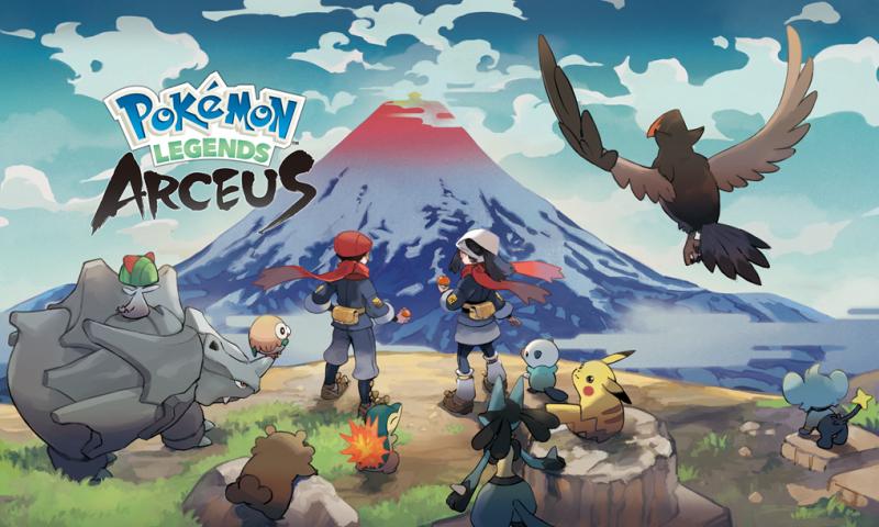 Pokémon Legends: Arceus พบกับการผจญภัยแบบใหม่โลกใบใหม่