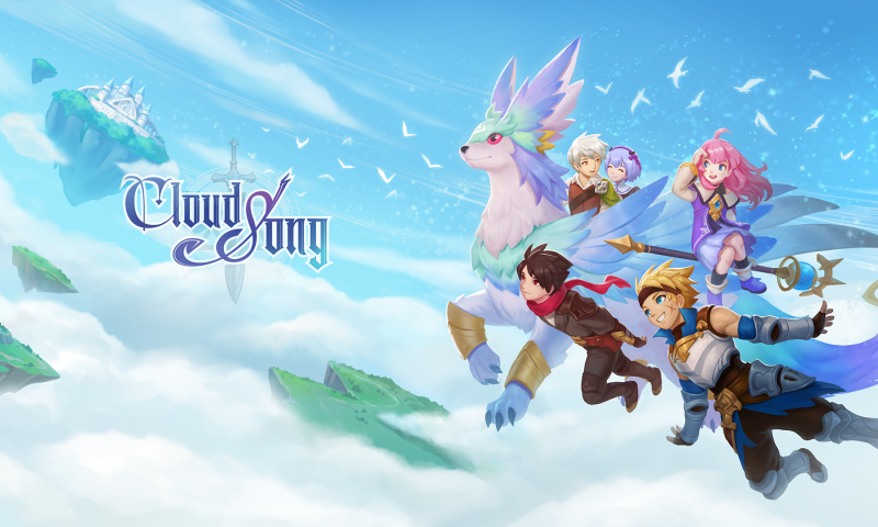 Cloud Song เกมมือถือเก็บเวล MMO เปิดให้บริการแล้ววันนี้