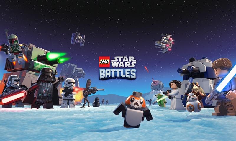 LEGO Star Wars Battles สงครามจักรวาลเปิดให้บริการสำหรับ iOS
